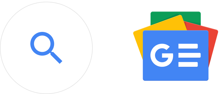 Google search icons